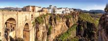 Puente Nuevo And The Cliffs Of El Tajo Gorge, Ronda, Spain