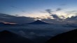 富士山と大雲海と日の出