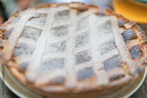 Fototapeta  Dolce Italiano, Pastiera napoletana (easter cake)