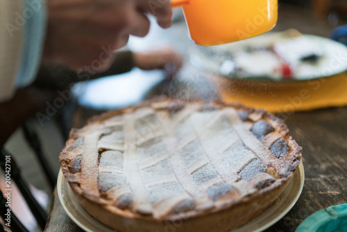Obraz na plátně  Dolce Italiano, Pastiera napoletana (easter cake)
