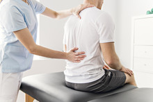 Patient At The Physiotherapy D...