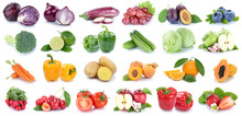 Fruits And Vegetables Collecti...