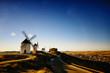 Don Quixote windmills Consuegra, Toledo Spain.
