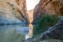The Rio Grande And Santa Elena...