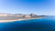Aerial views from Cabo Pulmo national park, Baja California Sur, Mexico.