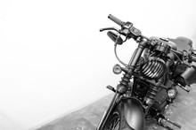 Vintage Motorcycle Detail