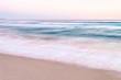 Ocean Waves on Sand Beach