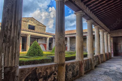 Fotografia Italy, Pompei, 02,01,2018      Casa del Menandro (House of Menander) a house in Pompeii, Italy