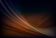 Brown Dark Background With Whi...