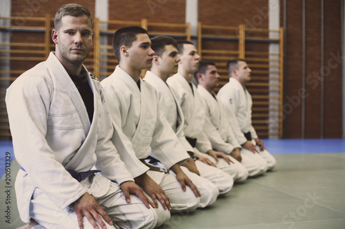 Photographie  Time for judo class.