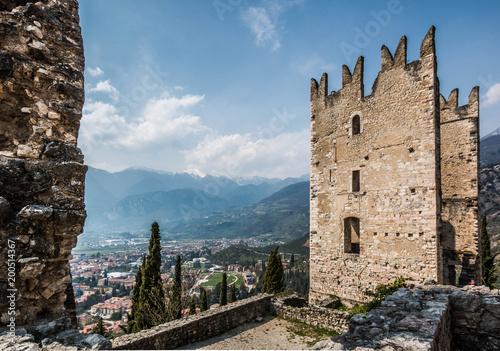 Foto  Vista dal Castello di Arco - Trento - Lago di Garda