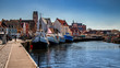 canvas print picture - Wismar Hafen