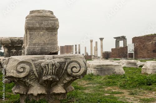 Foto op Aluminium Rudnes ruins of the ancient basilica of St. John