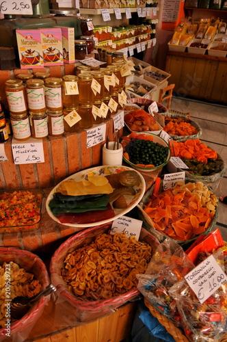 Photo  イタリア、シチリア島の市場