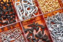 Various Metal Screws.