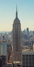 View Of Manhattan Skyline In N...