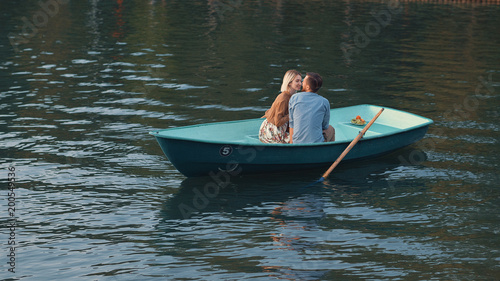 Other Romantic couple on the lake