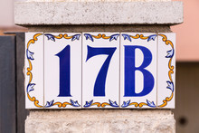 Spanish Tile Number 17B