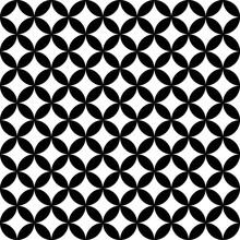 Geometric Circle Seamless Star...