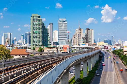 Poster Australie Bangkok aerial view