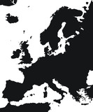 Clean Map of Europe - 200578957
