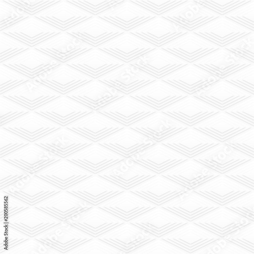 Seamless White Background_Diamond Pattern #Vevtor Graphics Canvas-taulu