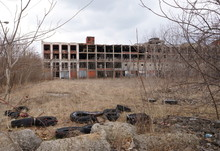 The Old Packard Factory Abando...