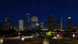Houston, Texas skyline at night