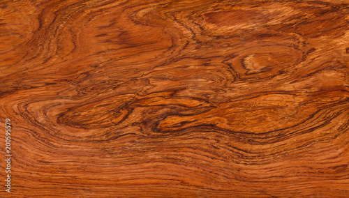 Fotografie, Obraz  Brazilian rosewood natural texture, texture background.