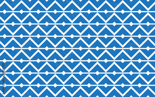 Valokuva  Geometric pattern abstract vector background design.