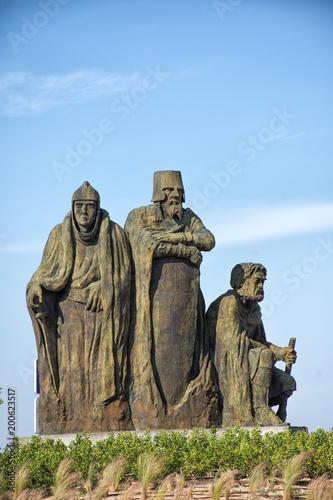 Fotografía  Estatua en rotonda de Torrelodones
