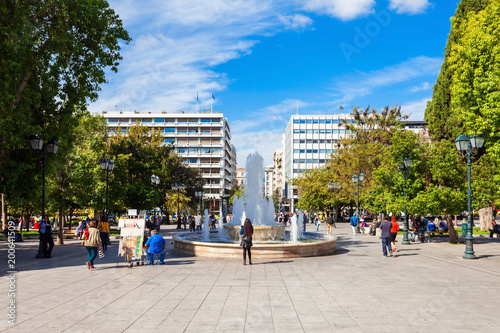 Fotobehang Athene Syntagma Square in Athens