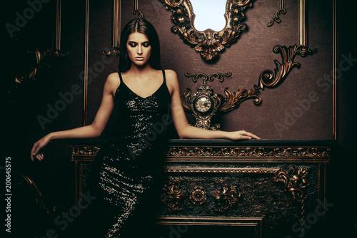 Fotografia woman in tight dress