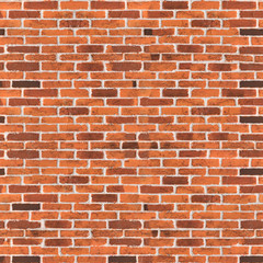 Seamless old brick wall
