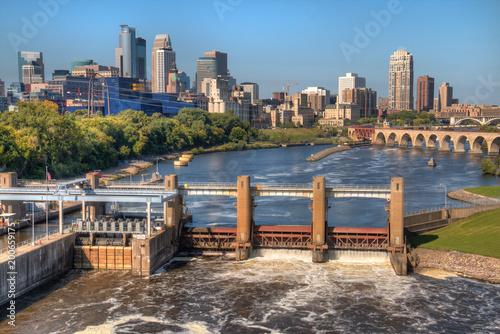 Fotografija  Minneapolis Skyline in Minnesota, USA