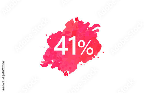 Poster  41 Percent Discount Water Color Design