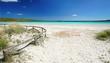 schöner Mittelmeerstrand auf Sardinien