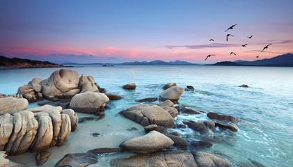 Fototapeta Do hotelu Costa Smeralda, Capriccioli Strand