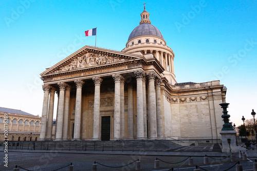 Photo Stands Paris The Pantheon is a secular mausoleum , Paris, France.
