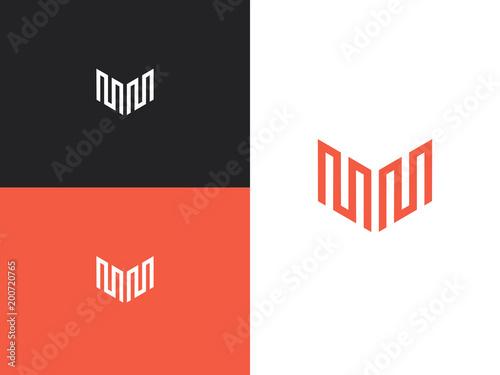 Logo design template 108 Canvas Print
