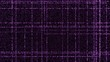 Grid of purple ;glowing particles