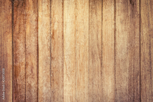 Tuinposter Hout Aged Wood Background and Texture vertical, Vintage toned.
