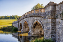 Stone Bridge Over Canal In Oxf...