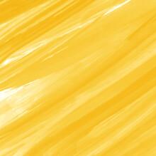 Yellow Irregular Diagonal Striped Watercolor Background Pattern, Vector Illustration