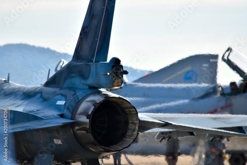 Photo F-2戦闘機の尾翼