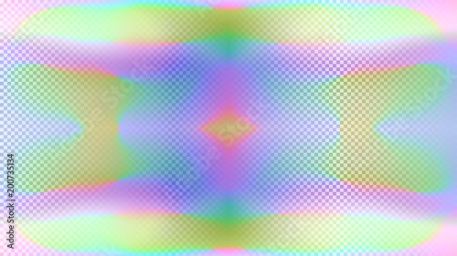 Holographic background Poster Mural XXL
