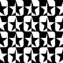 Seamless Pattern With A Five-p...