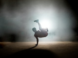 process of doing freeze without difficulties.demonstate skills. mixture of coordination. dancing element