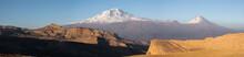 Peaks Of Agri Dagi Or Mt. Ararat (5137 M) And Kucuk Agri Or Little Ararat (3925 M)