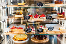 Pastry Shop Glass Display